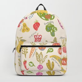 Veggies and Fruits Backpack