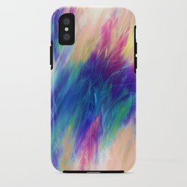 Paint Feathers in the Sky iPhone Case