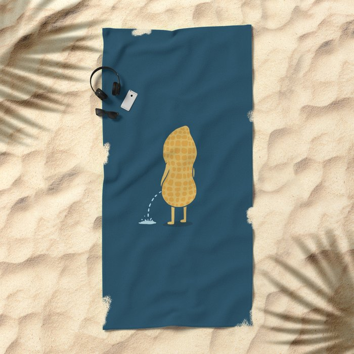 Peenut Beach Towel