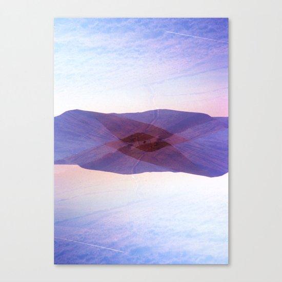 Peaked Canvas Print