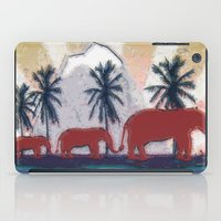 elephants iPad Cases featuring Elephants by LoRo  Art & Pictures