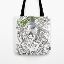 Yab Yum Mahaasukha Tote Bag