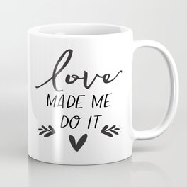 Love Sign Anniversary Decor Engagement Gift Valentines Day Decor Gift For Her Romantic Gifts For Him Coffee Mug