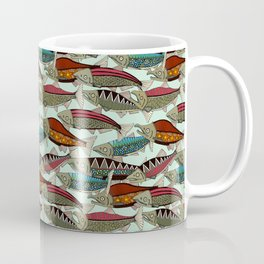 Alaskan salmon mint Coffee Mug