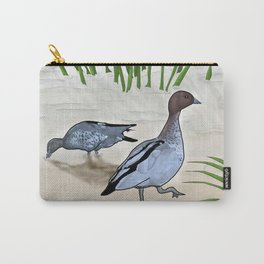 Australian Wood Duck Carry-All Pouch