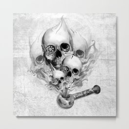 Faded Youth Metal Print