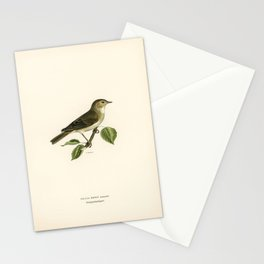 Great Grey Shrike (Lanius excubitor) illustrated by the von Wright brothers Stationery Cards
