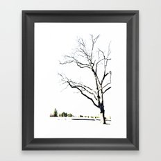 The Etching Framed Art Print