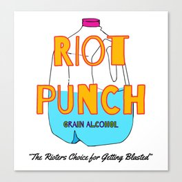Philadelphia Riot Punch Canvas Print