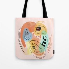 Modern minimal forms 17 Tote Bag