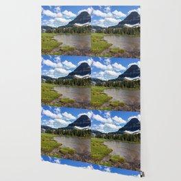Mountain Bliss in Summer Wallpaper