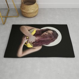 Madonna of the Shoe Rug