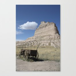 Trail's End Canvas Print