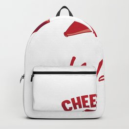Cheer Dad The Only Thing I Flip Is My Wallet  Backpack