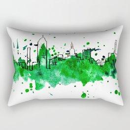 Going Downtown: Lansing Rectangular Pillow