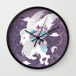 Flying Lion of Venice Wall Clock