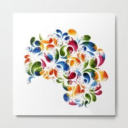 Colorful thoughts Metal Print