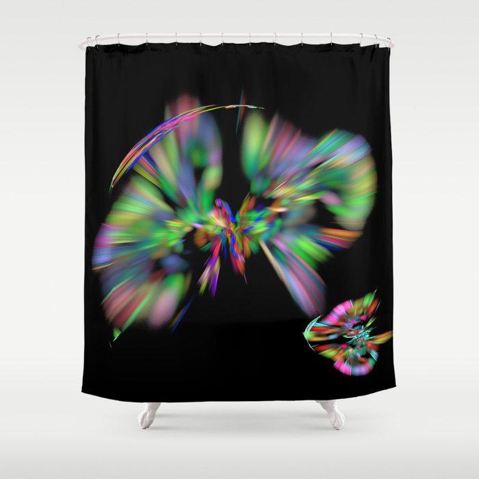 Rainbow colors Shower Curtain
