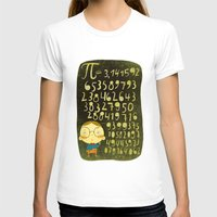 pi T-shirts featuring Pi by angry bean