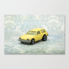 Yellow Hot Wheels Packin' Pacer 1977 Canvas Print