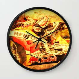 Le Mans 2015 motorcycle race repsol bike Wall Clock