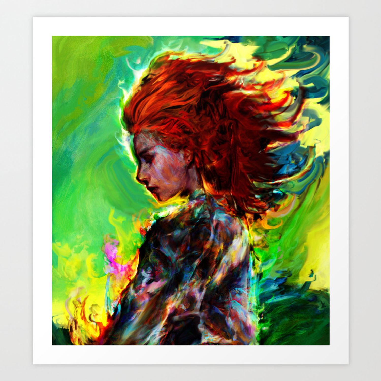 Aloy Art Print By Ururuty Society6