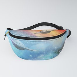 Explorers in Space Fanny Pack
