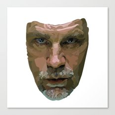 Shaping the Stars: John Malkovich Canvas Print