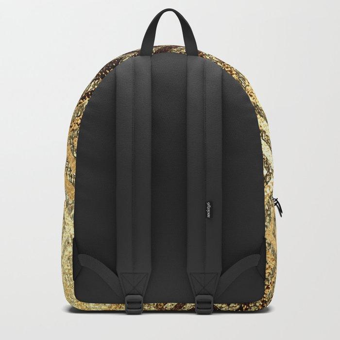 Elegant gold #1 Backpack