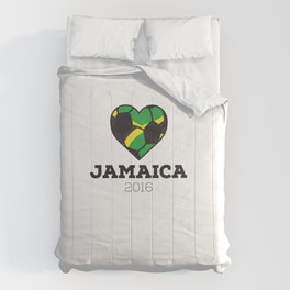 Jamaica Soccer Shirt 2016 Comforters