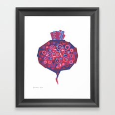 Beet (Betterave) Framed Art Print