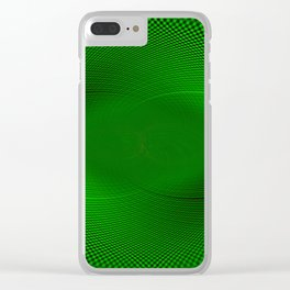 Not easy being Green Clear iPhone Case