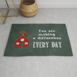 You are making a difference Rug