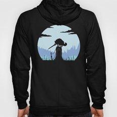 Grey Wolf Sif (Dark Souls) Hoody