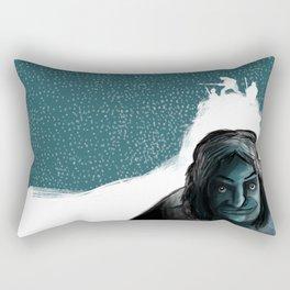 The Iceman Cometh Rectangular Pillow