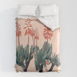 A blooming Plant Comforters