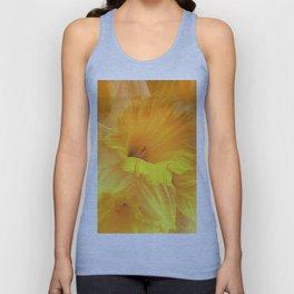 Spring Floral Portrait Unisex Tank Top