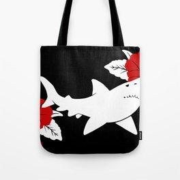 Shark Jolly Roger Tote Bag