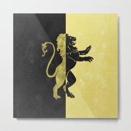 Gryffinpuff Metal Print