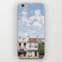 caleb troy iPhone & iPod Skins featuring Troy, Ohio by Andrea Bell of Tether & Fly