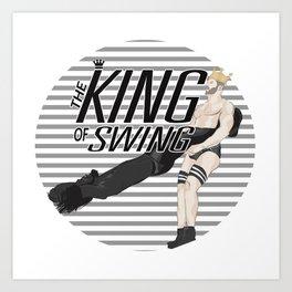 King of Swing - Cesaro Art Print