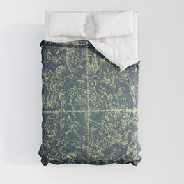 Stars Constellations Map Comforters