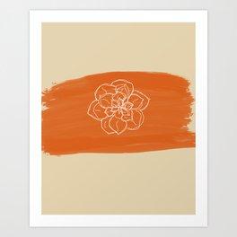 Succulent. Art Print