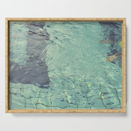 Pool swimming Serving Tray