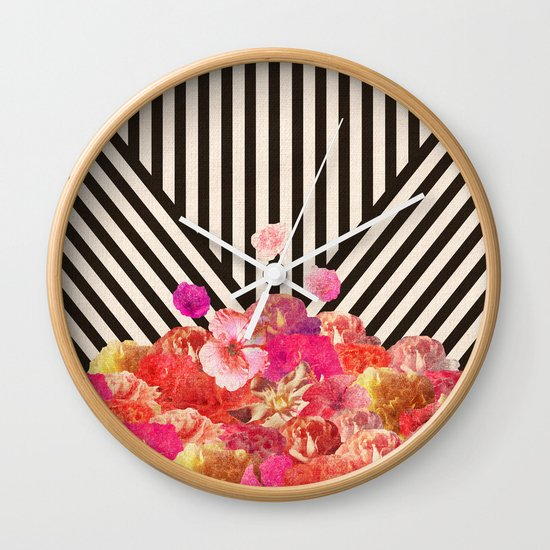 Floraline Wall Clock