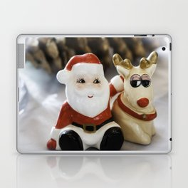 Santa and Rudolph Laptop & iPad Skin