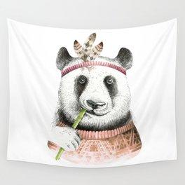 Panda Art Print Wall Tapestry