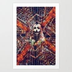 She wants the World to Burn Art Print