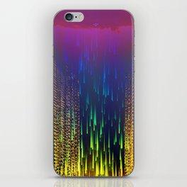 Rain over The Golden Chamber iPhone Skin