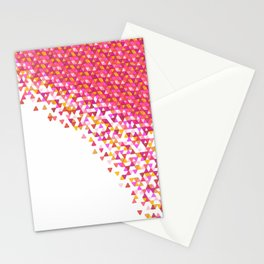 Rose Gold Funfetti Storm Stationery Cards